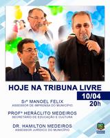 Hoje 04/10 - 5ª Sessão Ordinária