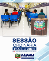 Convite ao público para Sessão Ordinária